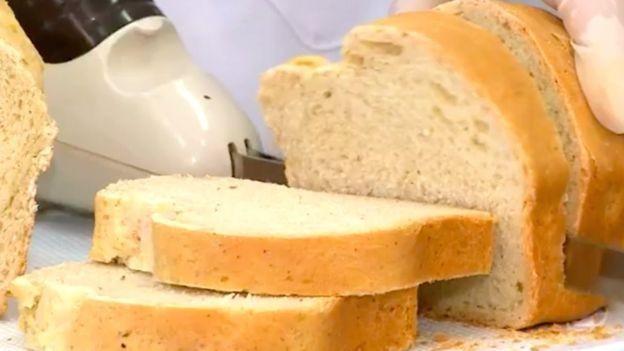 Para fazer os pães, as pesquisadoras trituraram as baratas em um moinho de bolas (Foto: Divulgação via BBC News Brasil)