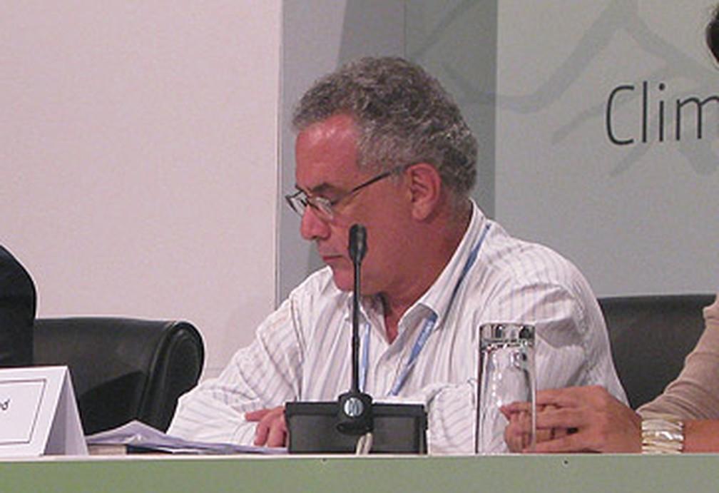 Eduardo Assad, quando era secretário de Mudanças Climáticas do governo Dilma Rousseff. — Foto: Dennis Barbosa/G1