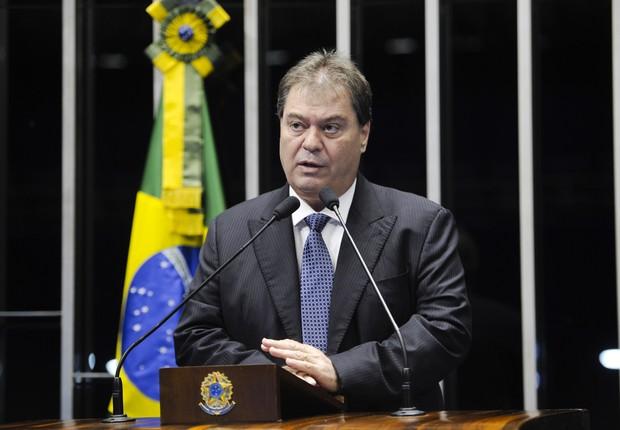 Ex-senador Gim Argello (Foto: Pedro França/ Agência Senado)