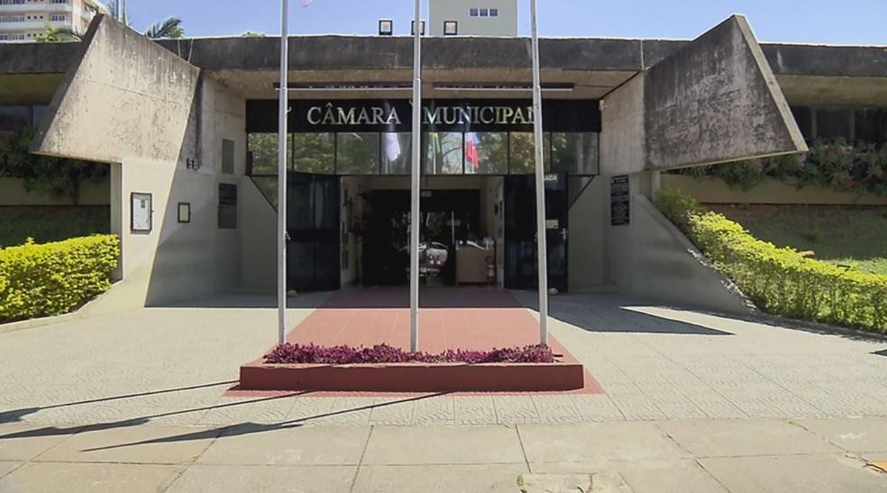 Câmara de São Lourenço — Foto: Reprodução EPTV