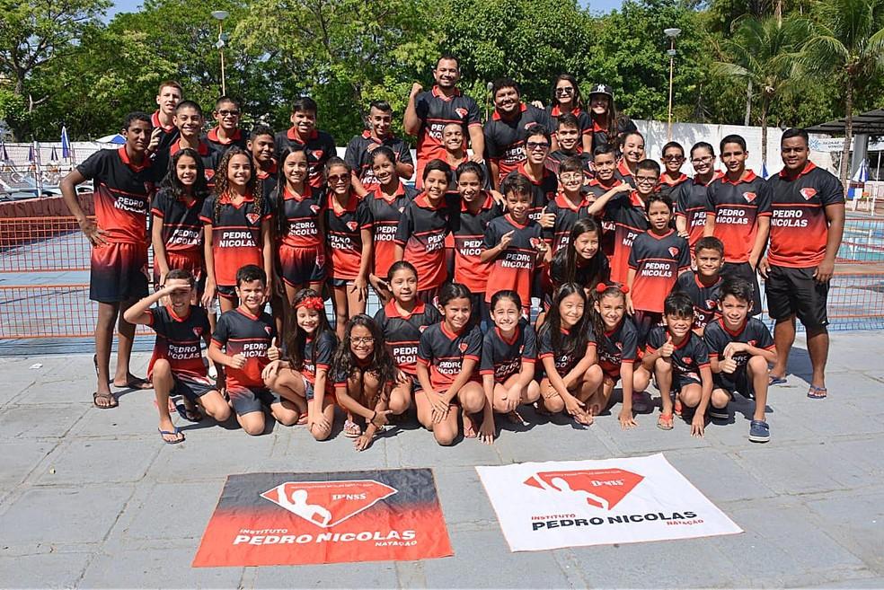 7cf8b6d88 Instituto Pedro Nicolas almeja recordes na Copa Amazônia de Natação ...