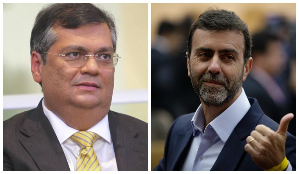 Flávio Dino e Marcelo Freixo farão anúncio conjunto
