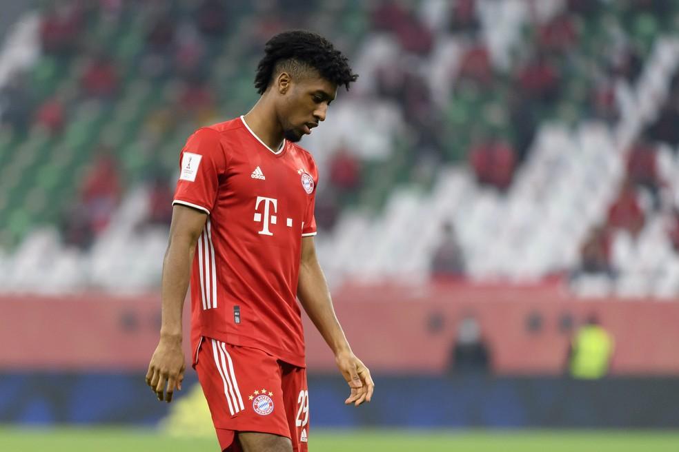 Coman foi multado pela segunda vez pelo Bayern de Munique por não ir ao treino em carro da patrocinadora — Foto: Gaston Szerman/Getty Images