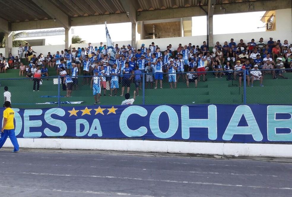 Parnahyba pode retomar a liderança do campeonato com vitória em casa (Foto: Jorge Alves/Parnahyba)