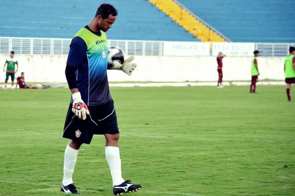 Bruno Fernandes atuou em cinco jogos pelo Boa Esporte antes de ser preso em 2017 (Foto: Régis Melo)
