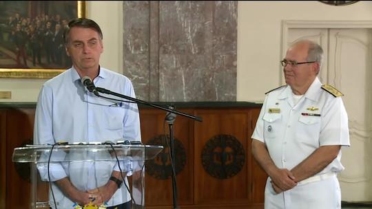 AO VIVO: Bolsonaro fala agora após reuniões na Marinha