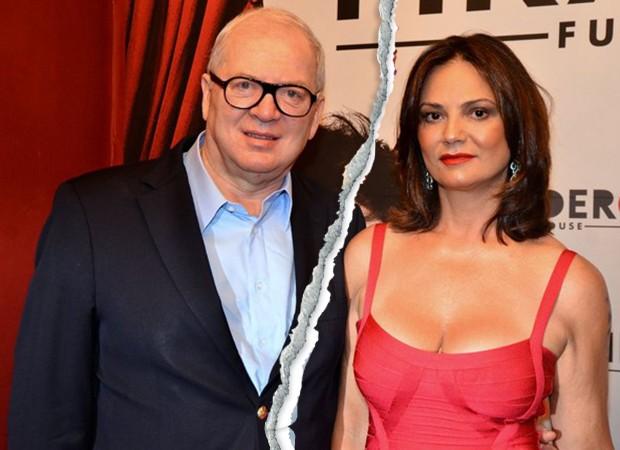 Luiza Brunet e Lírio Parisotto (Foto: Caio Duran/ Agnews)