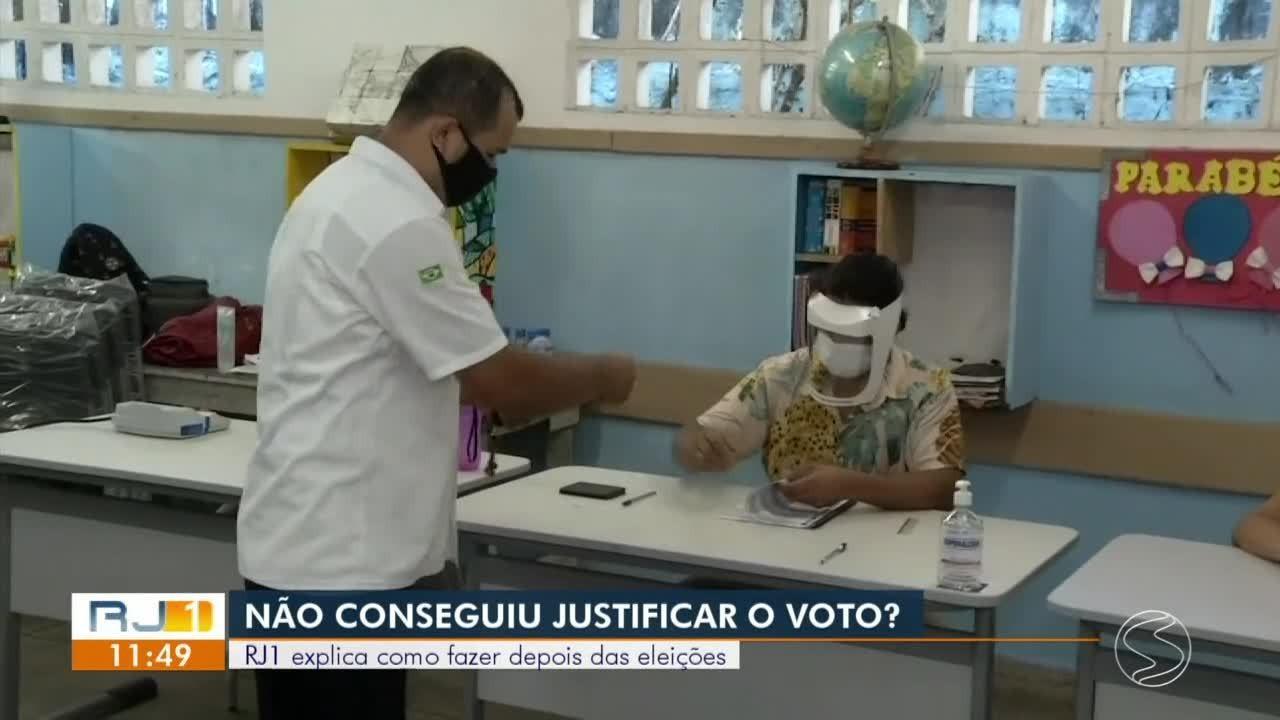 Não votou? RJ1 explica como justificar a ausência nas eleições