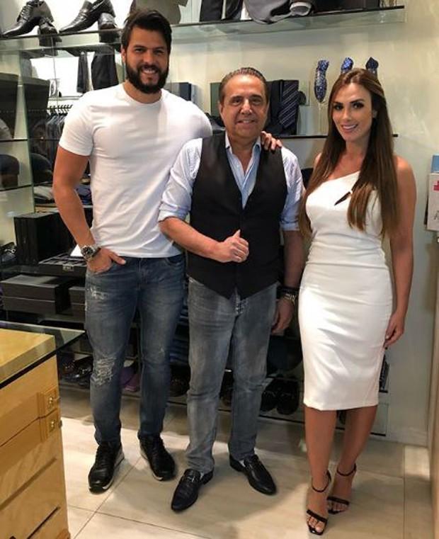 Marcelo Bimbi, Eduardo Guinle e Nicole Bahls (Foto: Reprodução/Instagram)