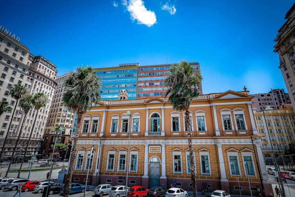 Prefeitura Municipal de Porto Alegre — Foto: Alex Rocha/PMPA