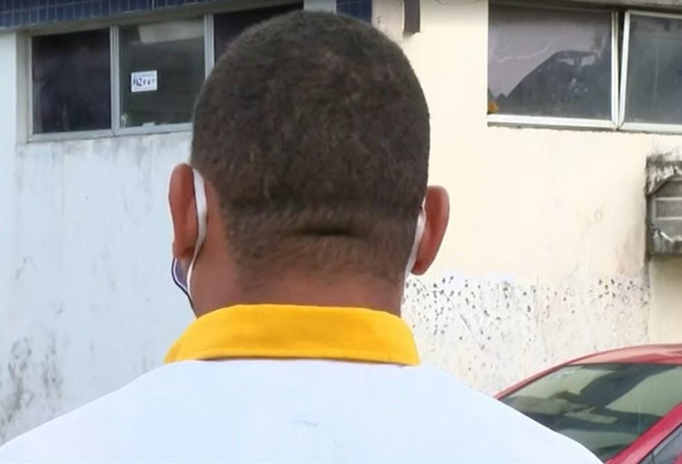 Rodoviário que estava no ônibus quando motorista foi baleado contou que eram entre oito a 10 criminosos — Foto: Reprodução/TV Bahia