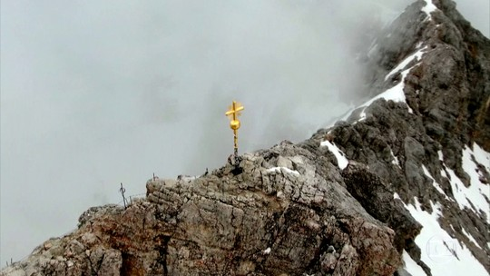 Zugspitze, a montanha da neve eterna, é o ponto mais alto da Alemanha