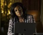 Viola Davis em cena de 'How to get away with murder' | Reprodução
