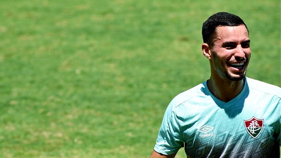 Cotado para estrear no profissional, Martinelli é considerado joia no Flu — Foto: Mailson Santana / Fluminense FC
