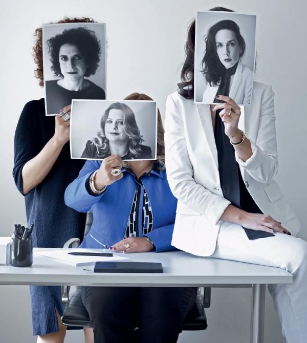 Carolina, Carla e Ana dizem que a sorte as privilegiou (Foto: .)