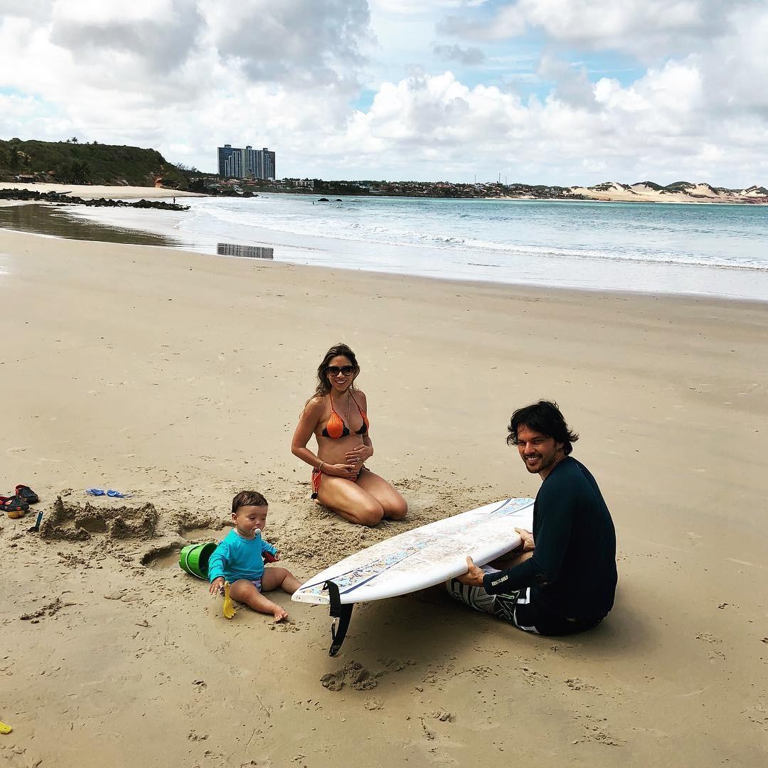 Patricia Abravanel e família (Foto: Reprodução)