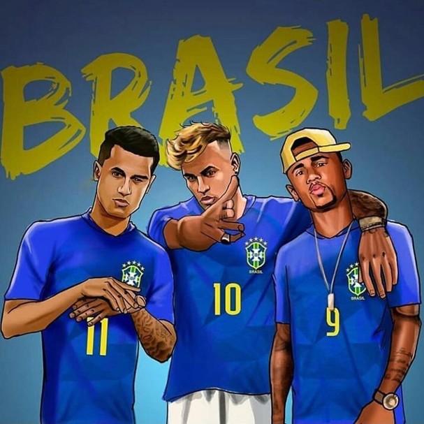 Famosos torcem pelo Brasil (Foto: Reprodução )