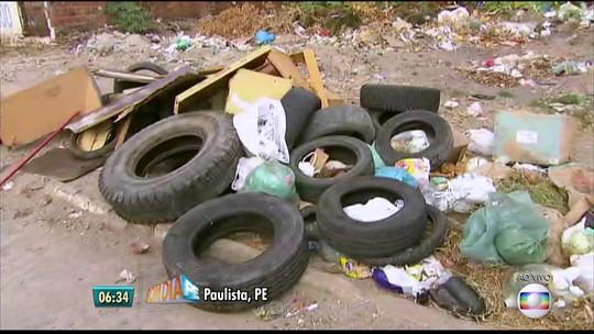 Mutirão reforça combate aos focos de mosquito em bairros de Paulista