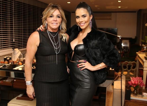Marisa Clermann e Daniela Albuquerque (Foto: Thiago Duran/AgNews)