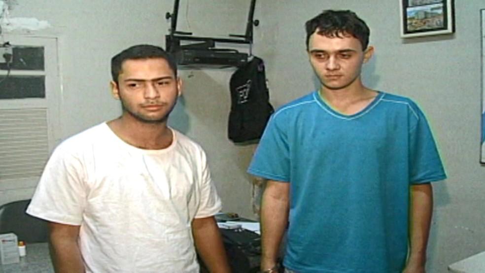 Acusados de matar família em jogo de RPG são julgados 14 anos depois — Foto: Arquivo/ TV Gazeta