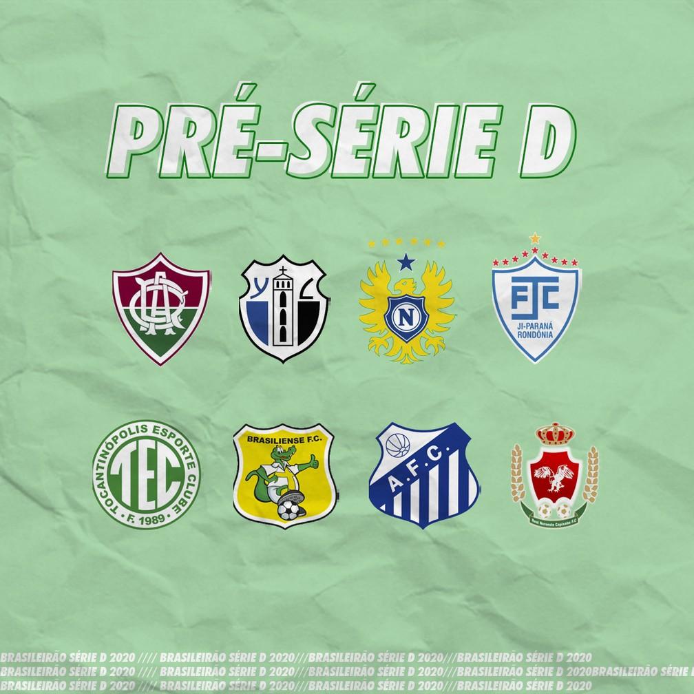 Conheca Os Times Que O Ji Parana Podera Enfrentar Na Pre Serie D Do Brasileirao Brasileirao Serie D Ge