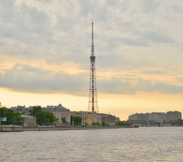 Torre de TV de São Petersburgo (Foto: Thinkstock)