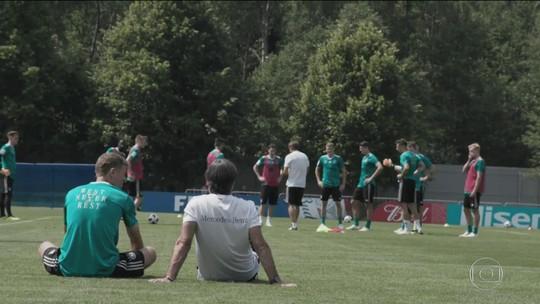 Copa mal começou e Alemanha já tem que botar ordem na casa