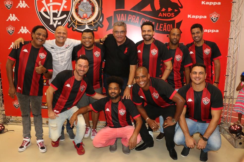 e9135551d ... Vitória lança uniforme para a temporada 2019 — Foto: Divulgação/EC  Vitória