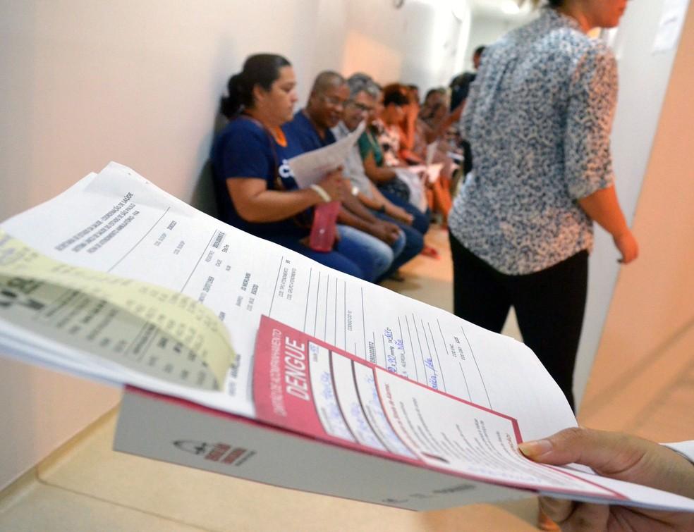 Araraquara atualizou para 7,49 mil casos de dengue registrados este ano — Foto: Prefeitura de Araraquara/Divulgação