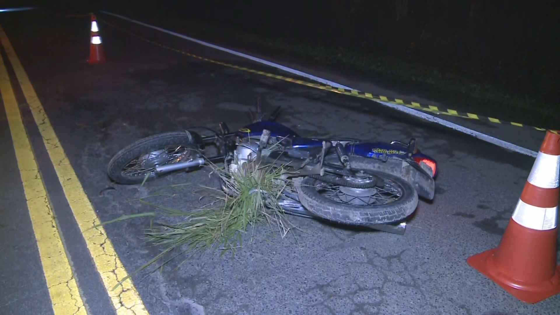 Motociclista morre após tombar em rodovia e ser atropelado em SP