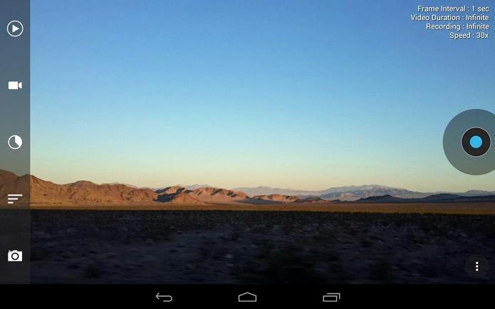Framelpase é um app para fazer timelapse no Android (Foto: Divulgação/Framelapse)