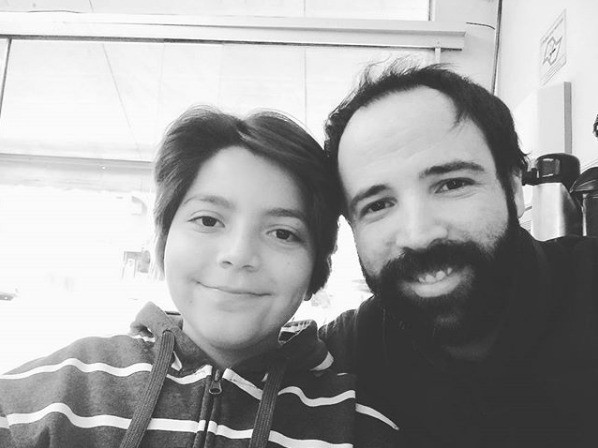 Pai e filho (Foto: Arquivo pessoal)
