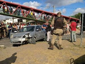 Crime aconteceu no bairro Cidade Nova, em Feira de Santana (Foto: Ed Santos / Acorda Cidade)