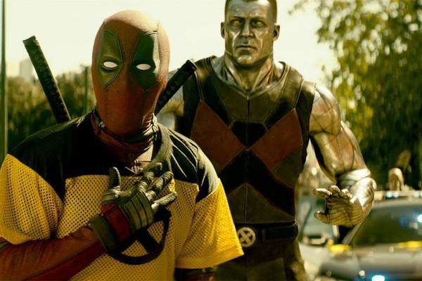 O ator Ryan Reynolds como Deadpool em cena de Deadpool 2 (2018) (Foto: Reprodução)