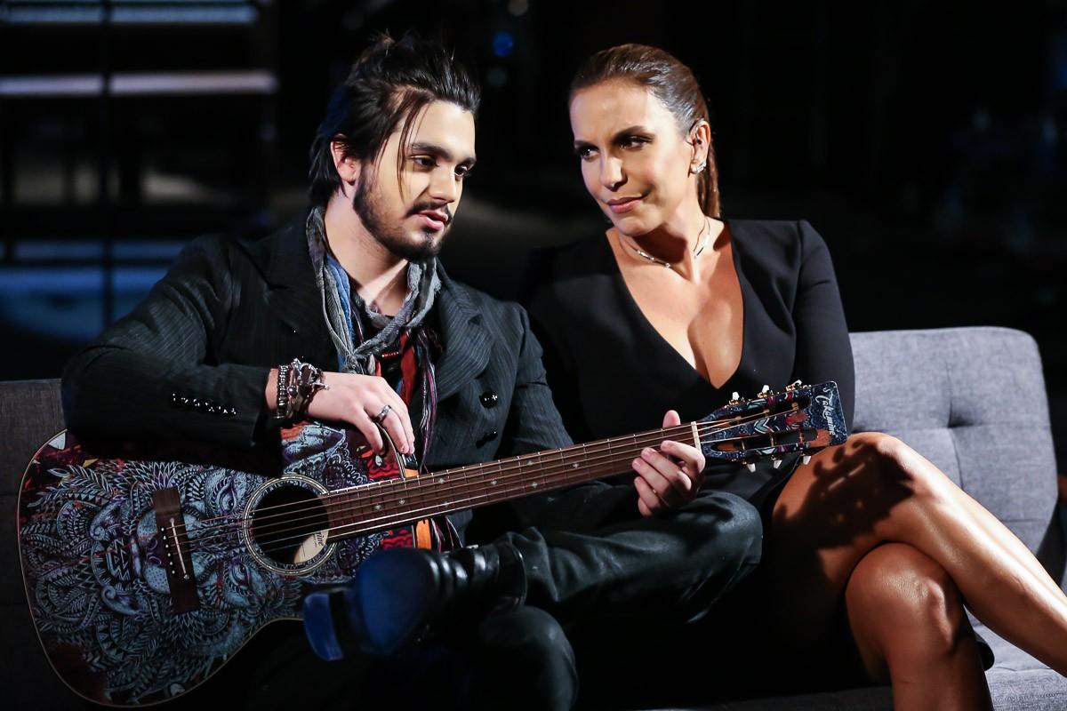 Ivete Sangalo e Luan Santana (Foto: Brazil News)