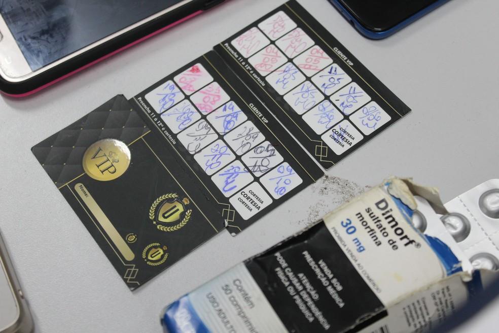 Clientes assíduos tinham cartão fidelidade — Foto: Rickardo Marques/G1 AM
