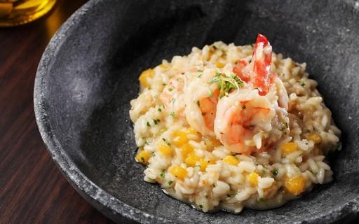 Risoto de camarão com manga tem sabor agridoce na medida