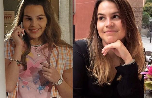 Bianca Salgueiro tinha 17 anos quando viveu a Carolina de 'Fina estampa'. Atualmente, dedica-se à carreira de engenheira. Ela morava na Europa até o início do ano, mas voltou ao Brasil temporariamente por causa do coronavírus (Foto: TV Globo / Reprodução)