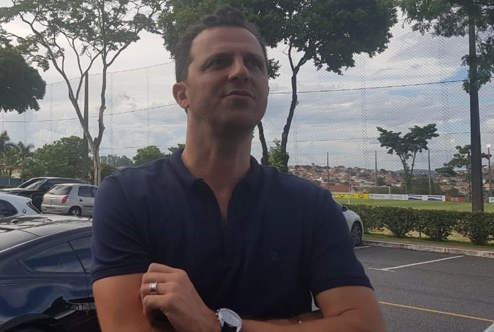 Giuliano Aranda é um dos empresários do zagueiro Dedé, do Cruzeiro — Foto: Gabriel Duarte