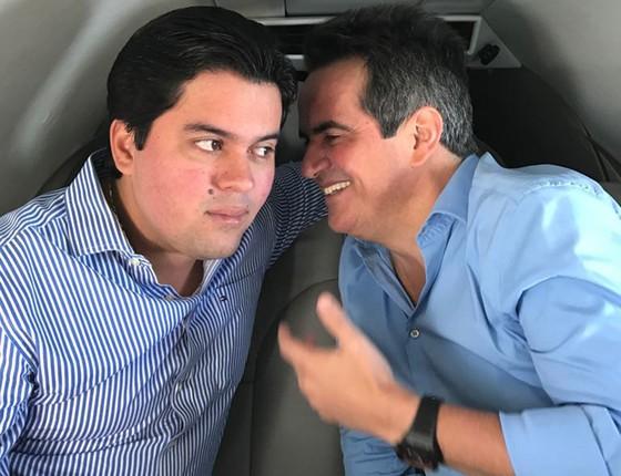 Ciro Nogueira com um de seus melhores amigos, o deputado maranhense André Fufuca, também conhecido como Fufuquinha (Foto: Reprodução)