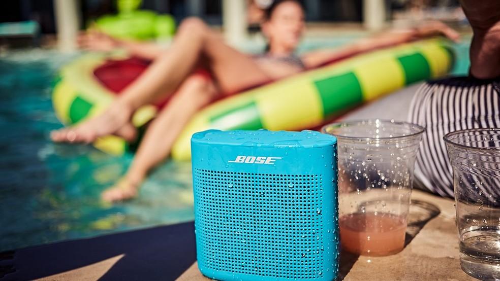 Bose SoundLink Speaker II é resistente à água (Foto: Divulgação/Bose)
