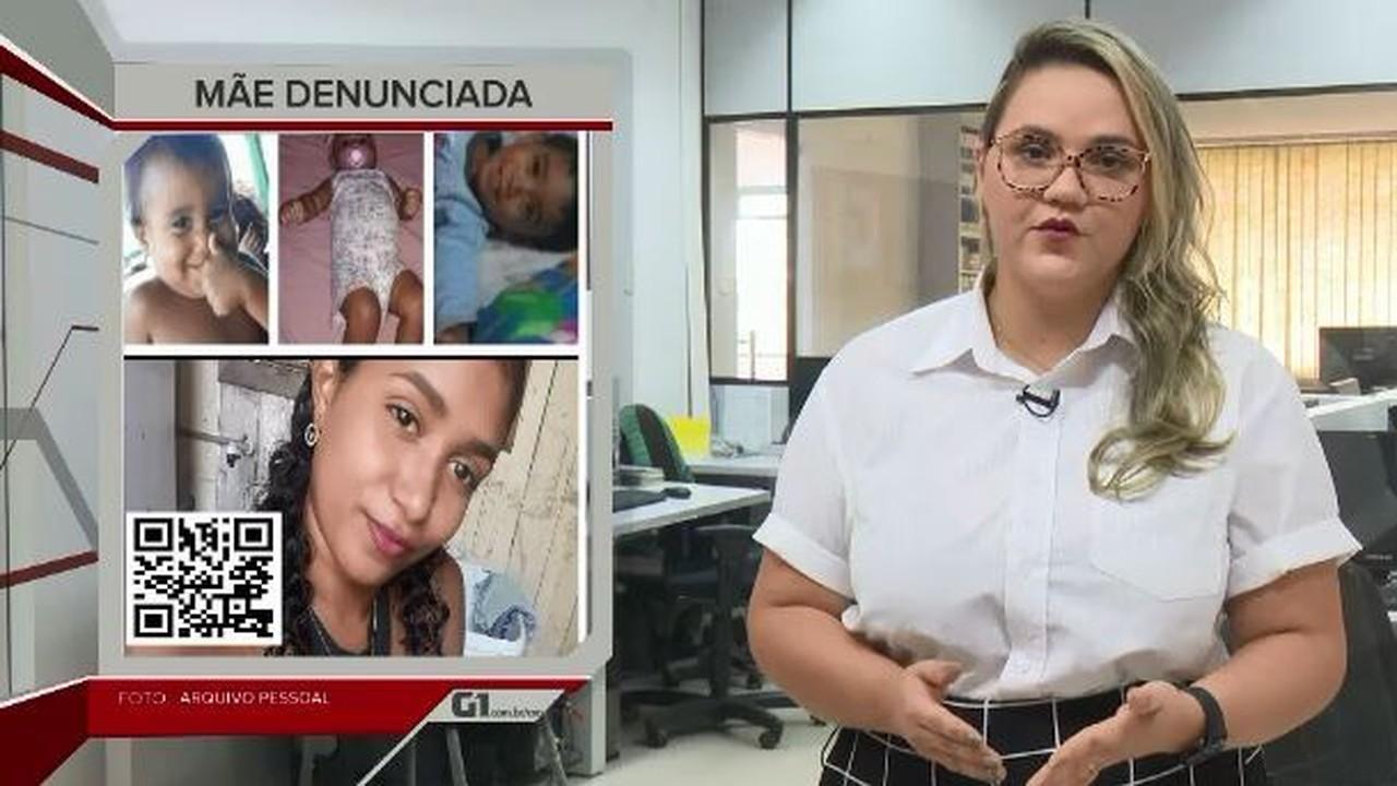 G1 em 1 minuto-AC: Mãe de crianças carbonizadas é denunciada pelo MP