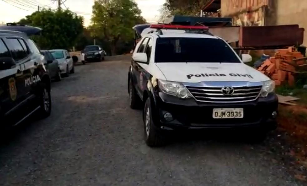 Operação policial de Boituva foi realizada nesta quinta-feira (2) — Foto: Polícia Civil/Divulgação