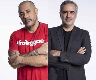 José Junior e Heitor Dhalia   TV Globo