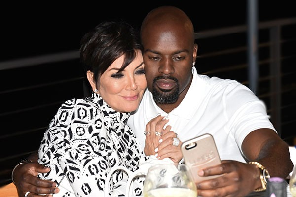 Kris Jenner e Corey Gamble (Foto: Getty Images)