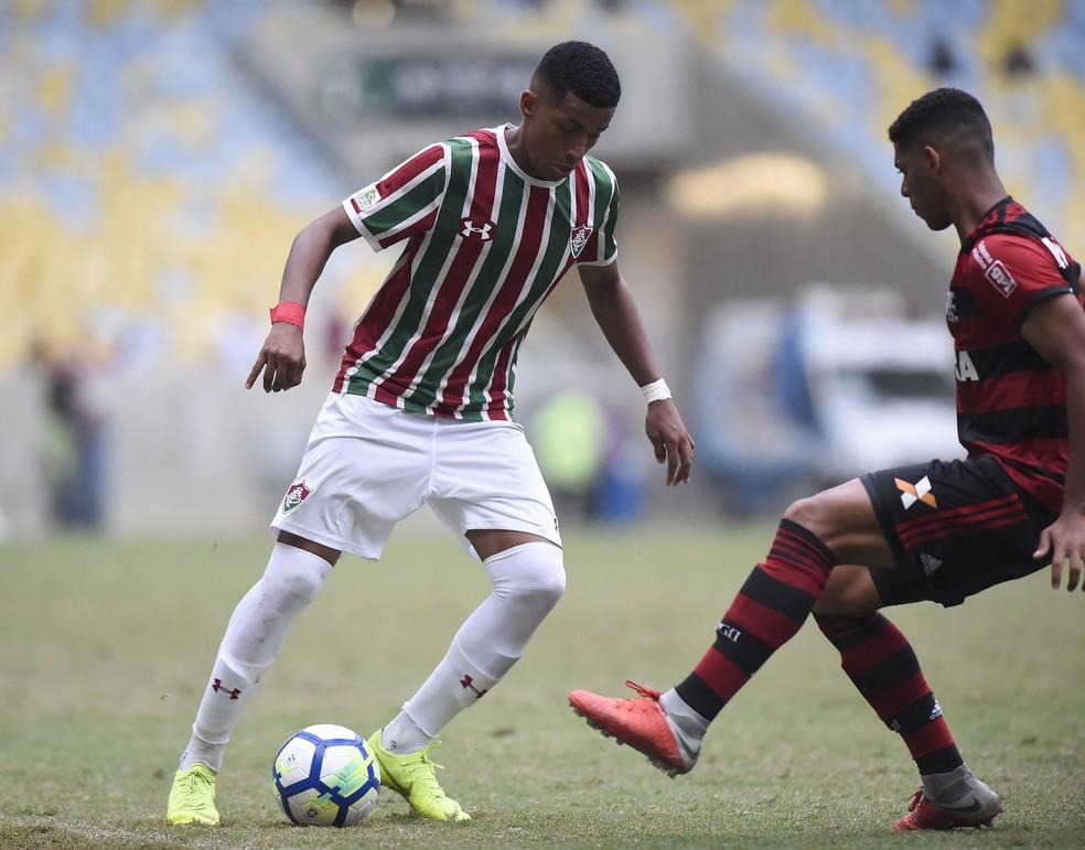 Flamengo x Fluminense - Copa do Brasil sub-17 — Foto: André Durão