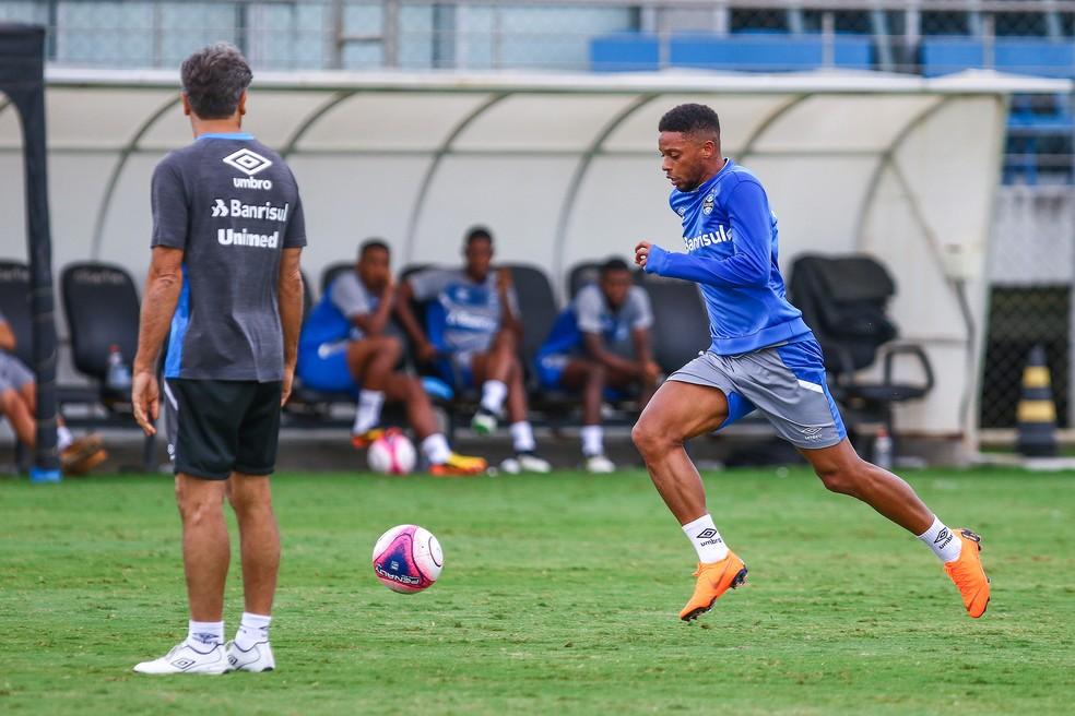 André diz que presença de Renato o motivou a se transferir para o Grêmio (Foto: Lucas Uebel / Grêmio, DVG)