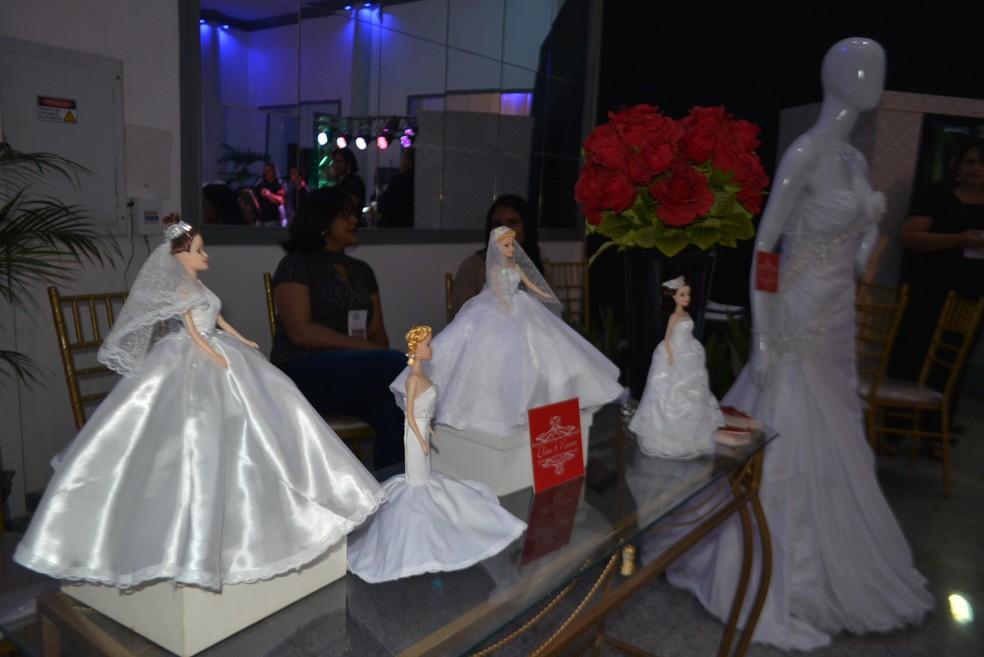 Feira de Noivas reuiu 26 expositores do ramo de noivas e debutantes (Foto: Lívia Costa/GE)