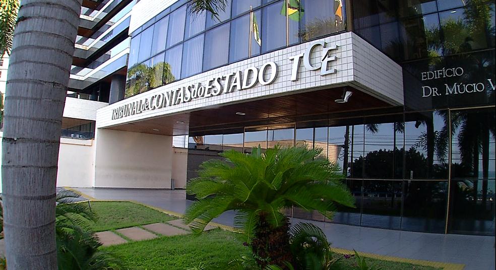 Tribunal de Contas do Estado do RN (Foto: Reprodução/Inter TV Cabugi)