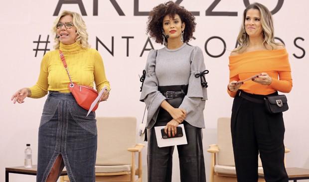 Astrid Fontenelle, Taís Araújo e Ingrid Guimarães (Foto: Manuela Scarpa/Brazil News)